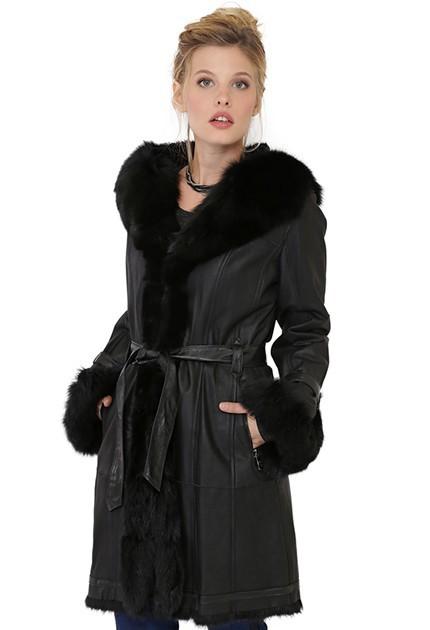 veste en cuir femme manteaux grandes marques mon cuir. Black Bedroom Furniture Sets. Home Design Ideas