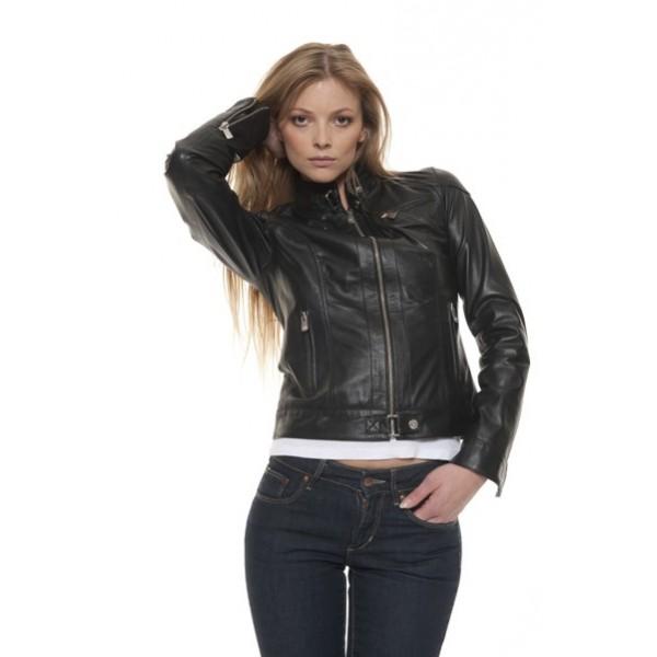 blouson-cuir-femme-oakwood-lina-noir-face