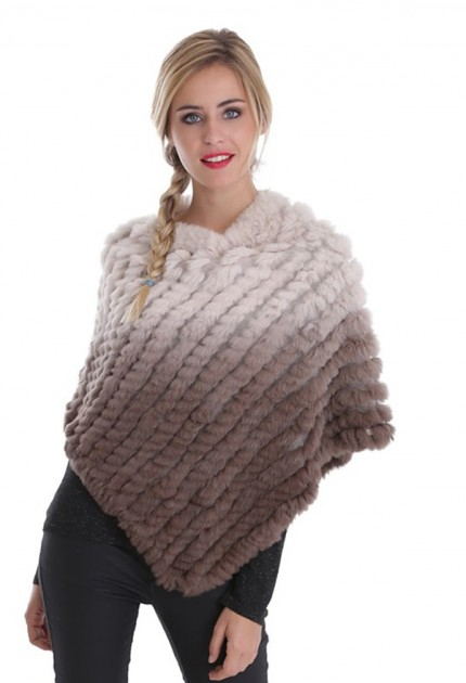 Poncho lapin femme oakwood davos 261627 divers