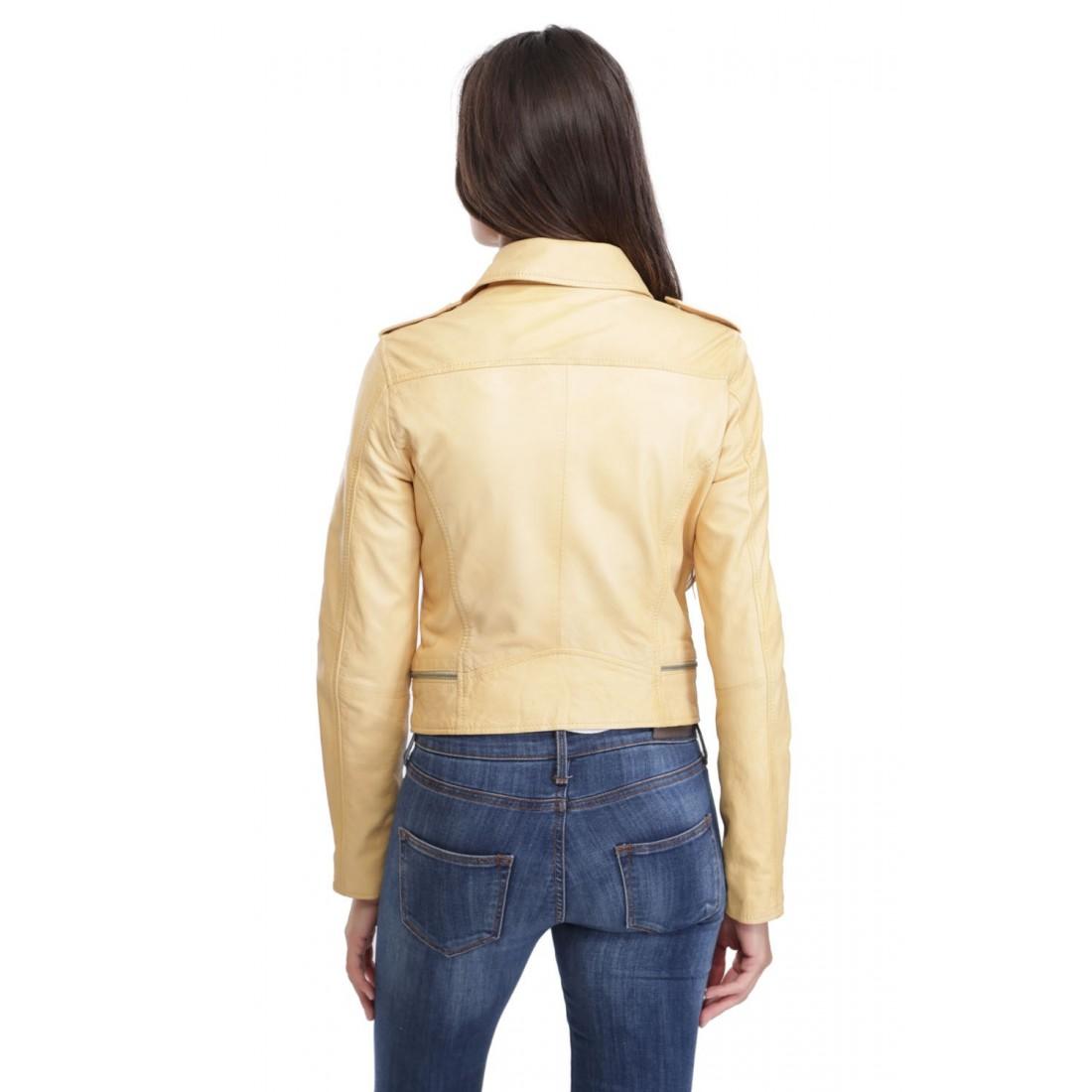 blouson cuir femme beige clair les vestes la mode sont populaires partout dans le monde. Black Bedroom Furniture Sets. Home Design Ideas