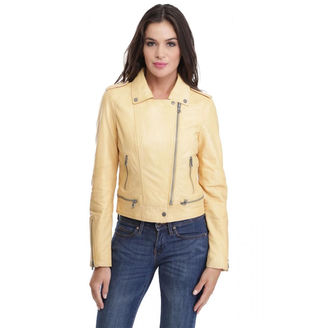 Veste beige femme bershka