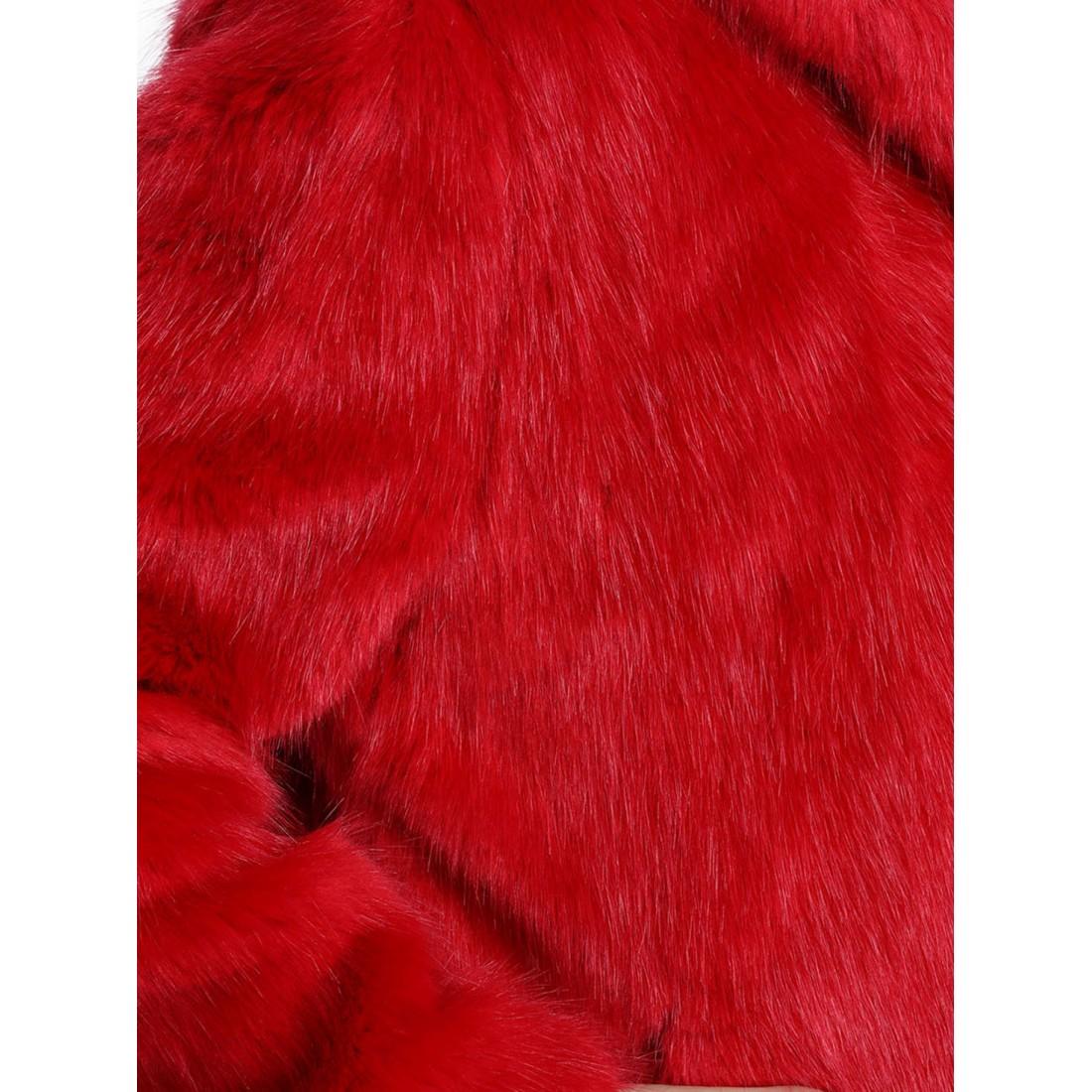 Fausse Fourrure Rouge : veste capuche en fausse fourrure femme oakwood electro 62407 rouge ~ Teatrodelosmanantiales.com Idées de Décoration
