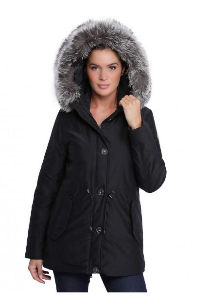 Parka avec capuche femme oakwood Alpine 62424 noir