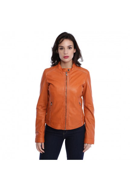 Choisir taille veste cuir femme
