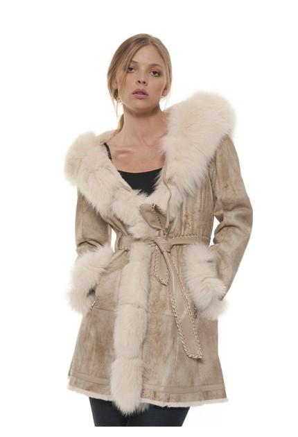 Manteau fourrure femme Newty Giovanni