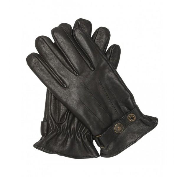 Gants pressionnés noir Schott Gl 1680