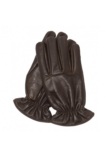 Gants marrons Schott GL GEAR1