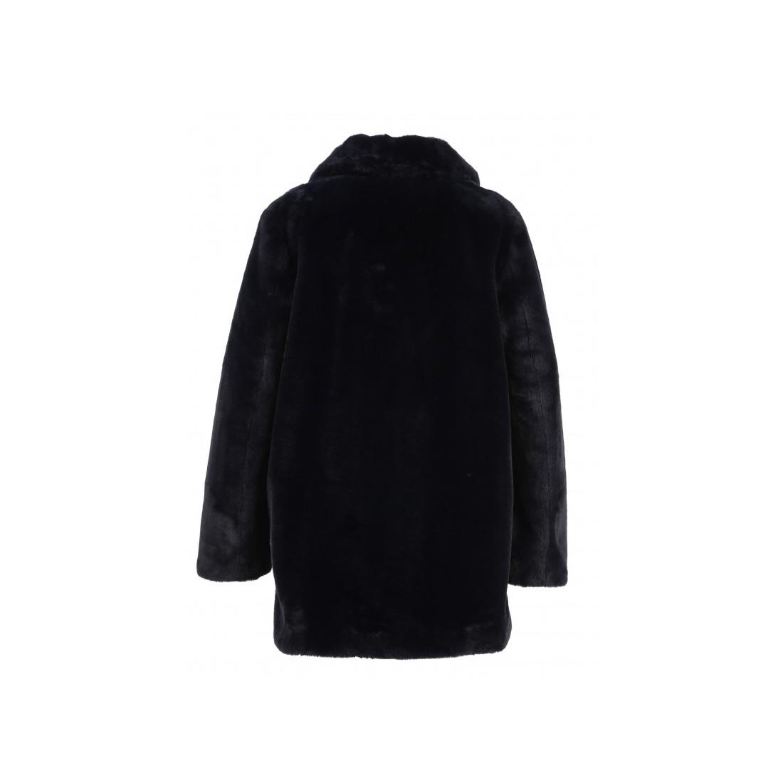 Oakwood Manteau effet fourrure bleu | BrandAlley
