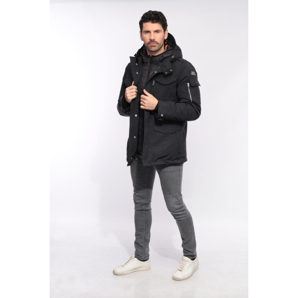 Schott Smith 18 homme noir