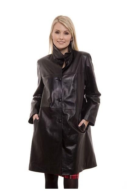 Manteau en cuir Moncuir Fabuleuse