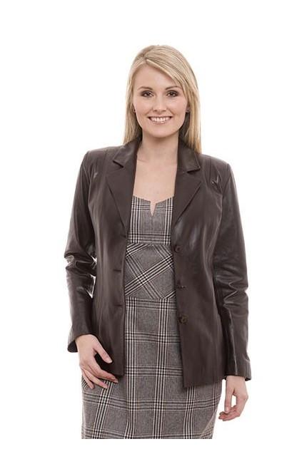 Manteau cuir femme giorgio sandrine