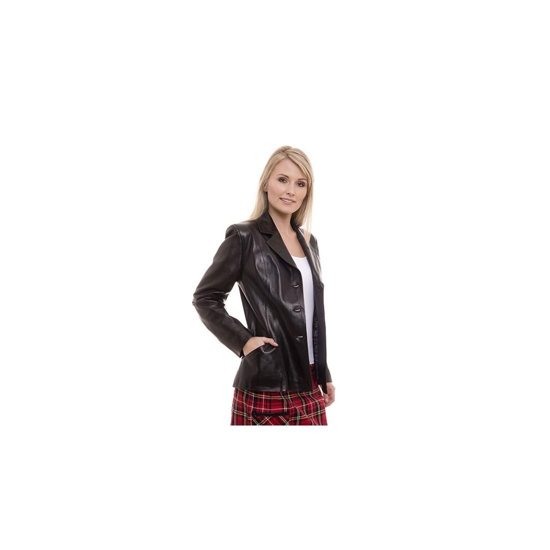 manteau cuir femme giorgio sandrine. Black Bedroom Furniture Sets. Home Design Ideas