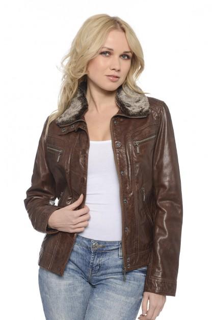 Blouson cuir Daytona Roxy