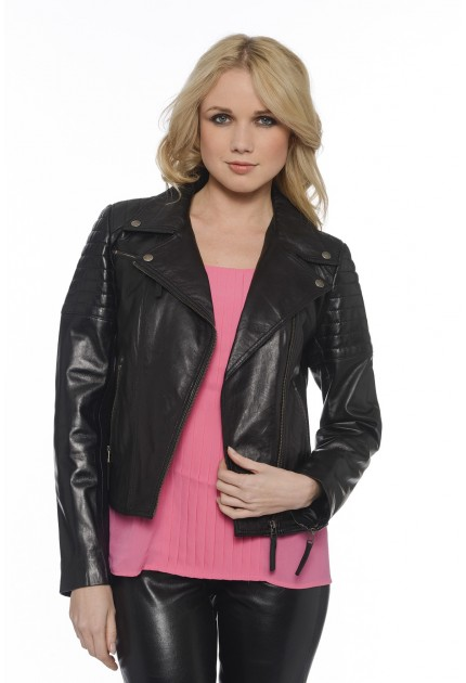 Blouson cuir perfecto Giovanni New-York