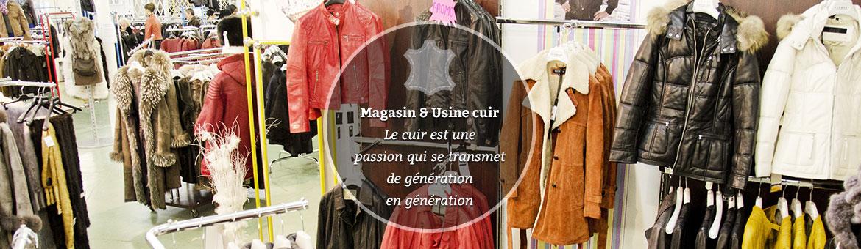 Vêtement cuir Lille Magasin Dag Lavane Moncuir