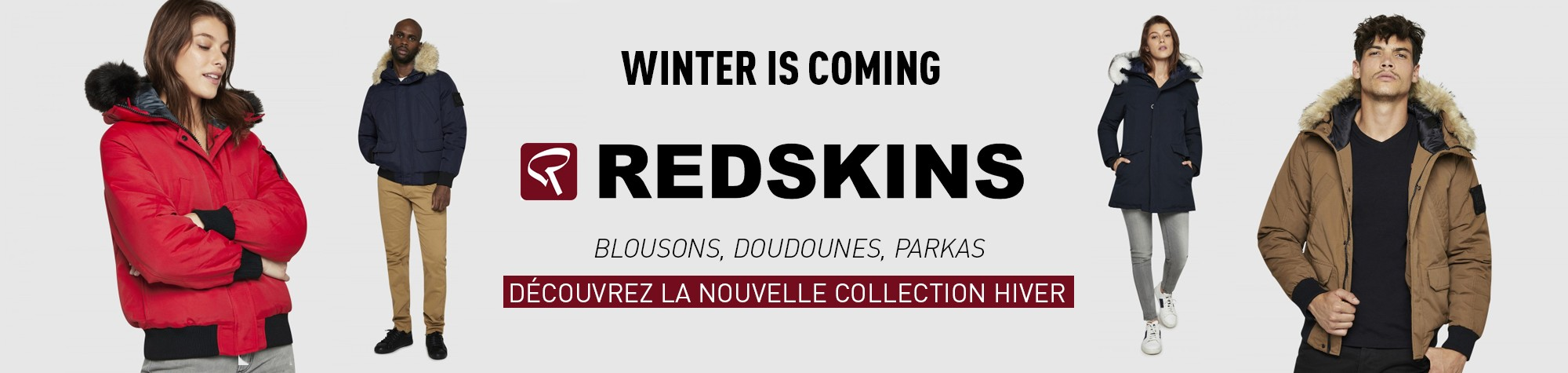 Nouvelle collection Hiver 2018 Redskins